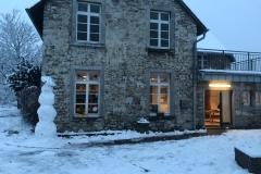 Das InDa House im Winter